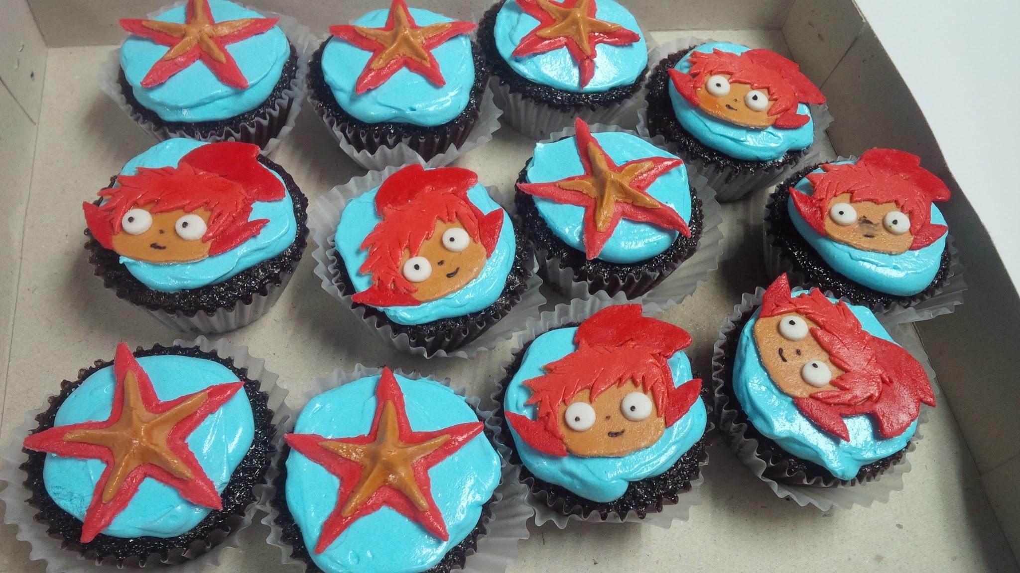 Ponyo Cupcakes - Laagan Kaayo 23rd Birthday
