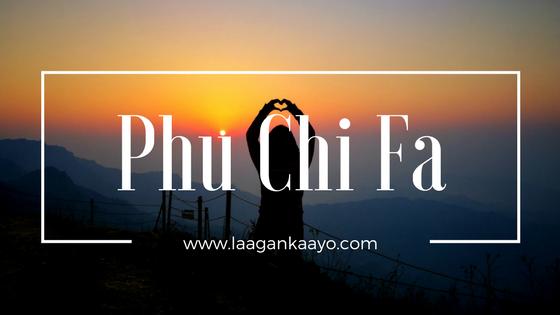 Phu Chi Fa, Chiang Rai, Thailand